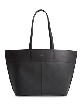 Totally Leather Tote Bag by A.P.C.