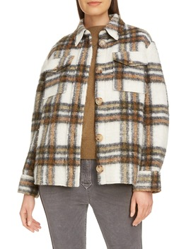 Plaid Shirt Jacket by Isabel Marant Étoile