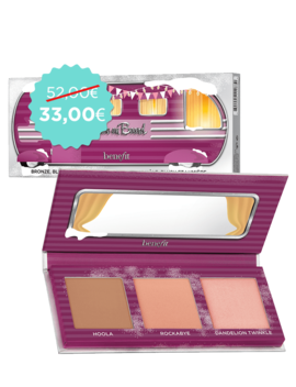 Babe On Board | Rouge, Bronzer &Amp; Highlighter Mini Palette by Benefit