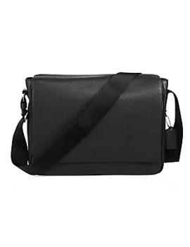 Metropolitan Pebbled Leather Messenger Bag by Coach