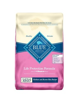Blue Buffalo Adult Chicken & Brown Rice Small Breed   Dry Dog Food by Blue Buffalo