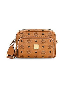 Klassic Visetos Crossbody Bag by Mcm