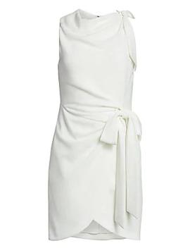 Mini Nanon Crepe Dress by Cinq à Sept