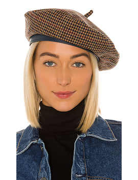 Audrey Ii Beret In Multi Plaid by Brixton