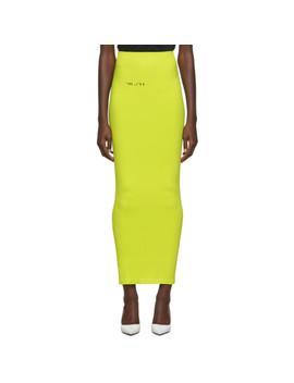 Green Tech Seamless Skirt by Unravel