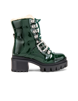 Checked Boot by Jeffrey Campbell