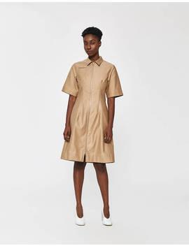 Zip Front Pocket Dress by Nomia Nomia