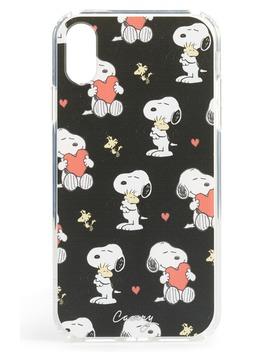 X Peanuts® Hearts & Hugs I Phone X & Xs Case by The Casery