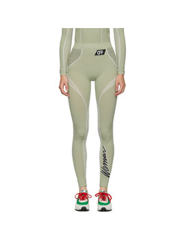 Legging Vert Athletic by Off White