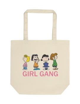 X Peanuts® Canvas Tote Bag by Girl Gang