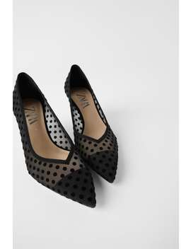 Dotted Mesh Mid by Zara