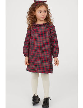 Dress With Flounced Collar by H&M