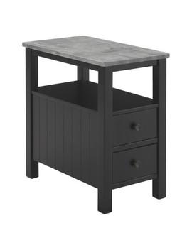 Ezmonei Chair Side End Table Black/Gray   Signature Design By Ashley by Signature Design By Ashley