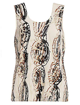 Doodle Tank Top by Nic + Zoe, Plus Size