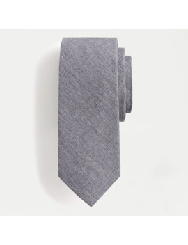 Heather Poplin Tie by J.Crew