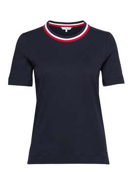 Th Essential C Nk Top Ss by Tommy Hilfiger