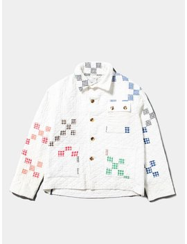 Quilted Workwear Jacket by Bode