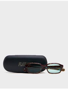 Hanky Sunglasses In Dizzying Blue by Flatlist Flatlist