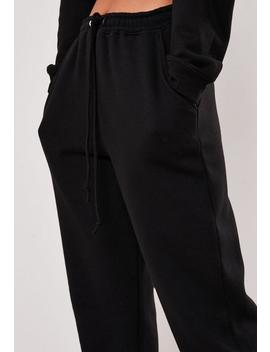 Tall Oversize Jogginghose In Schwarz by Missguided