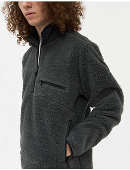 High Pile Pullover In Grey by Hill City Hill City