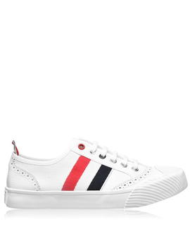 Canvas Trainers by Thom Browne