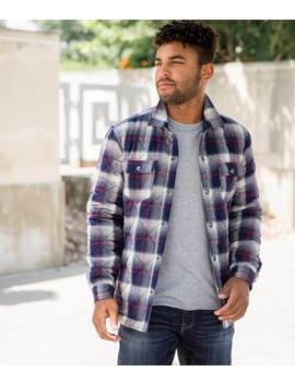 Flannel Shirt Jacket by Departwest