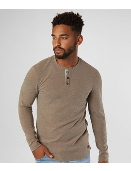 Brushed Knit Henley by Outpost Makers