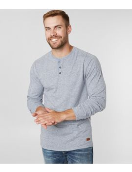 Heathered Knit Henley by Outpost Makers