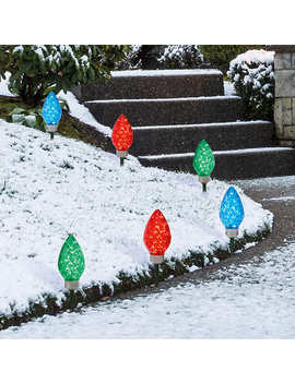 Led Faceted Pathway Lights Set by Costco