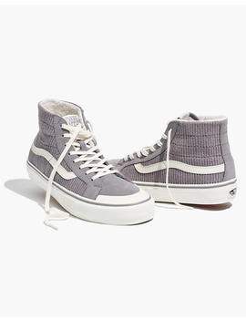 Vans® Unisex Sk8 Hi 138 Decon Sf High Top Sneakers In Corduroy And Sherpa by Madewell