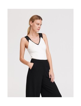 Sweatstoff Top by Reserved