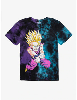 Dragon Ball Z Gohan Tie Dye T Shirt by Hot Topic