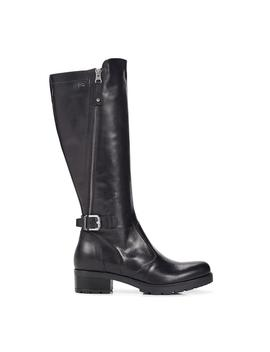 Leather Riding Boot by Nero Giardini