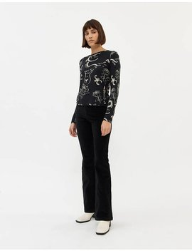 Tiree Stretch Pant In Black by Paloma Wool Paloma Wool