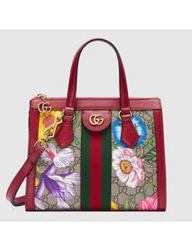 Ophidia Gg Flora Small Tote Bag by Gucci