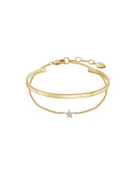 Gold Star Studded Bracelet Set by Missoma