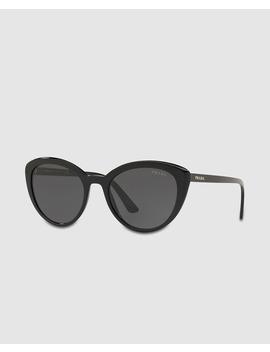 Gafas De Sol De Mujer Estilo Cat Eye Prada Con Montura De Acetato En Negro by Prada