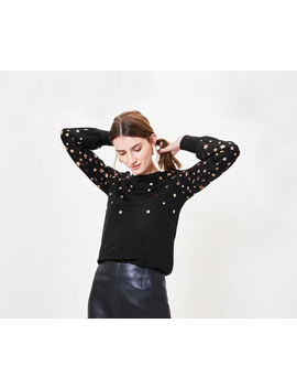 Foil Star Sweater by Oasis