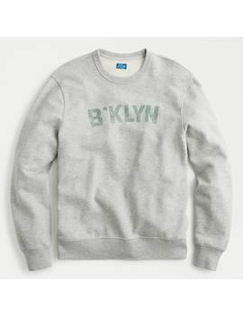 Brooklyn French Terry Crewneck Sweatshirt by J.Crew