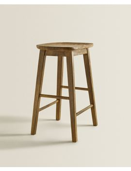 Tall Stool  Furniture   Living Room by Zara Home