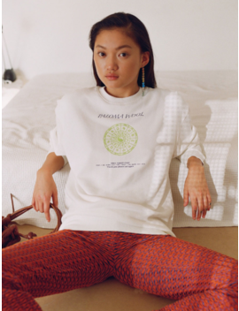 Unisex Paloma Wool Hotel Tarot Sweatshirt   Off White by Garmentory
