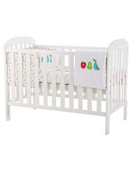 Anna White Cot by Dunelm