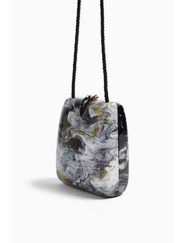Stark Black Acrylic Cross Body Bag by Topshop