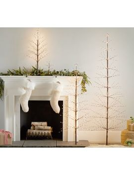 Twinkling Twig Trees by Pottery Barn