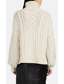 Nevelson Chunky Cable Knit Sweater by A.L.C.