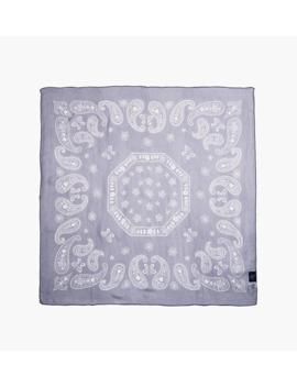 Bandana Scarf Silk Crepe / Paisley by Needles