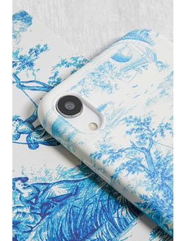 "Hülle Für I Phone Xr Mit ""Toile De Jouy"" Muster by Urban Outfitters"