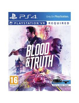 Blood & Truth Ps Vr Game (Ps4)887/6748 by Argos