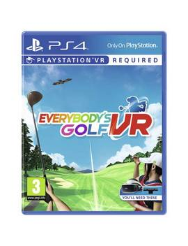 Everybody's Golf Ps Vr Game (Ps4)124/1019 by Argos