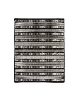 Monochrome Mark Making Rug by Asda